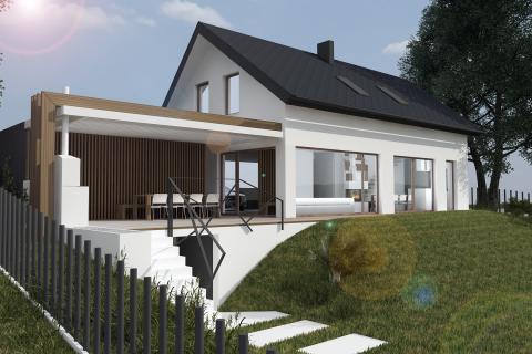 Družinska hiša T - KUB arhitektura
