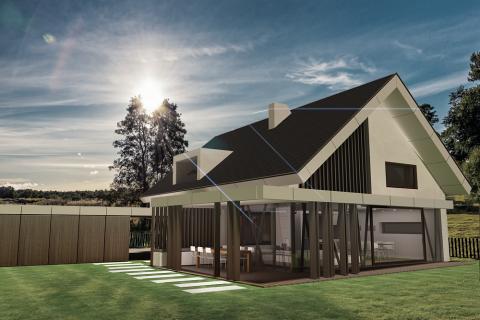 Družinska hiša ŠP - KUB arhitektura